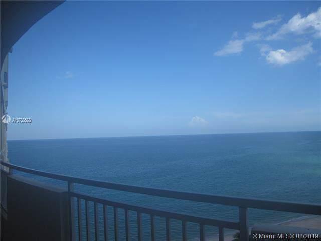 3180 S Ocean Dr #1411, Hallandale, FL 33009 (MLS #A10730688) :: RE/MAX Presidential Real Estate Group