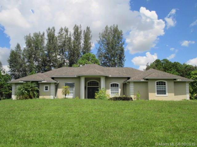 17339 N 31st Rd N, Loxahatchee, FL 33470 (MLS #A10731653) :: Ray De Leon with One Sotheby's International Realty