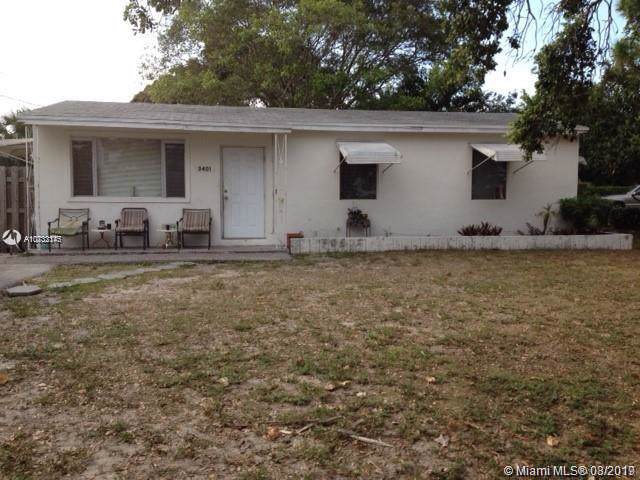 3401 Avenue F, Riviera Beach, FL 33404 (MLS #A10732175) :: Ray De Leon with One Sotheby's International Realty