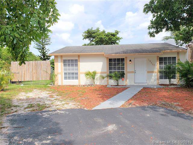 19493 NW 28th Ct, Miami Gardens, FL 33056 (MLS #A10733146) :: Ray De Leon with One Sotheby's International Realty