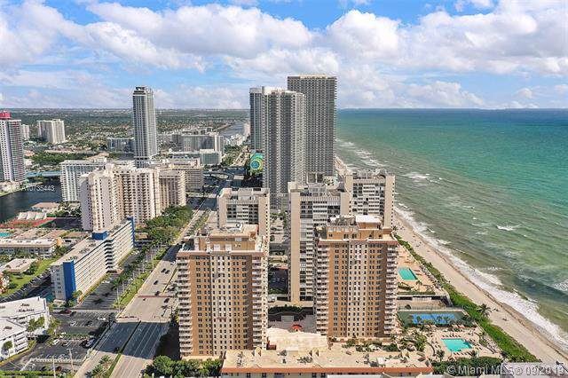 1912 S Ocean Dr 10B, Hallandale, FL 33009 (MLS #A10735443) :: United Realty Group