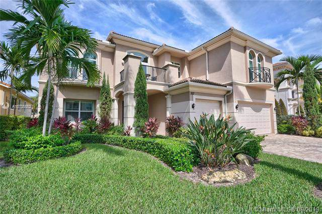 327 Charroux Dr, Palm Beach Gardens, FL 33410 (MLS #A10735852) :: United Realty Group