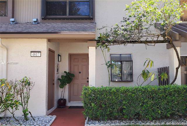 4817 W 82nd Ave #1006, Lauderhill, FL 33351 (MLS #A10735881) :: The Riley Smith Group