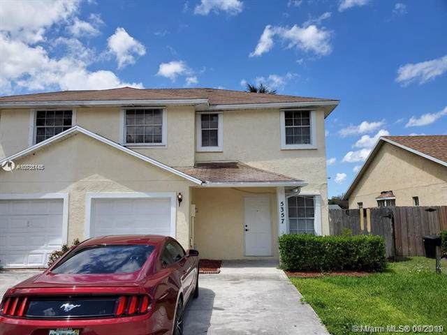 5357 Grey Fox Ct #5357, West Palm Beach, FL 33415 (MLS #A10736145) :: Ray De Leon with One Sotheby's International Realty