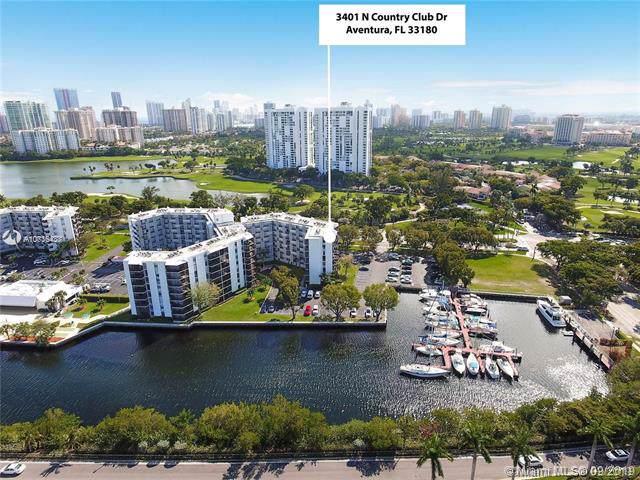 3401 N Country Club Dr #111, Aventura, FL 33180 (MLS #A10736438) :: Grove Properties