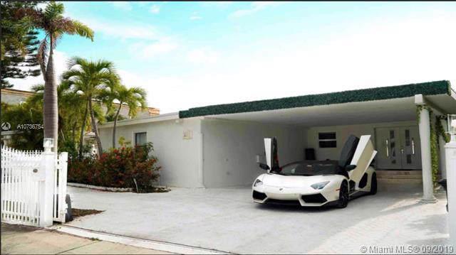 7548 W Treasure Drive, North Bay Village, FL 33141 (MLS #A10736754) :: The Kurz Team