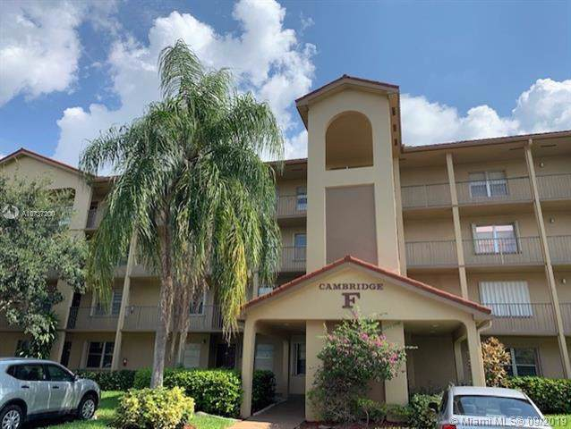 12701 SW 13th St 307F, Pembroke Pines, FL 33027 (MLS #A10737209) :: Ray De Leon with One Sotheby's International Realty