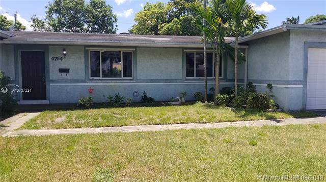 4764 NW 6 Ct, Plantation, FL 33317 (MLS #A10737224) :: Ray De Leon with One Sotheby's International Realty