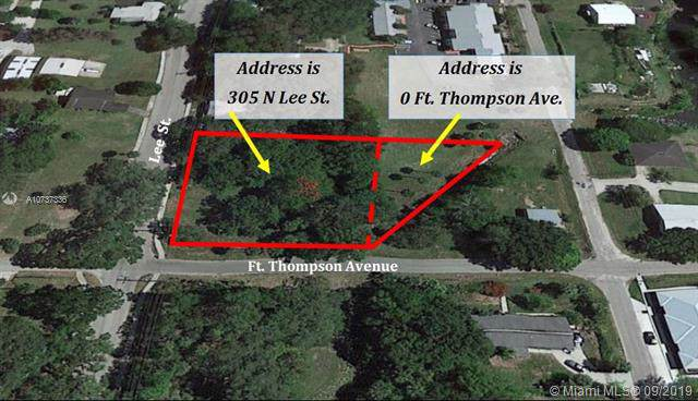 305 N. Lee St. & Ft. Thompson, Other City Value - Out Of Area, FL 33935 (MLS #A10737336) :: Grove Properties