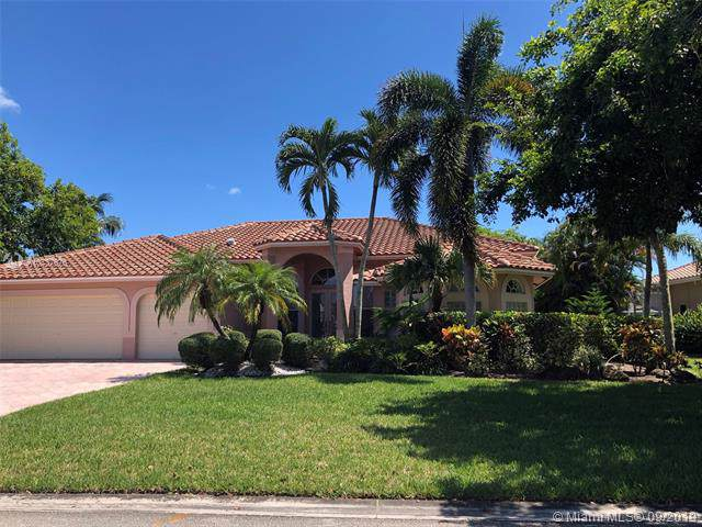 5038 Kensington Cir, Coral Springs, FL 33076 (MLS #A10737676) :: The Kurz Team