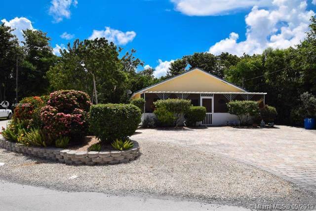 25 NE Snapper Ave, Other City - Keys/Islands/Caribbean, FL 33037 (MLS #A10738380) :: Laurie Finkelstein Reader Team