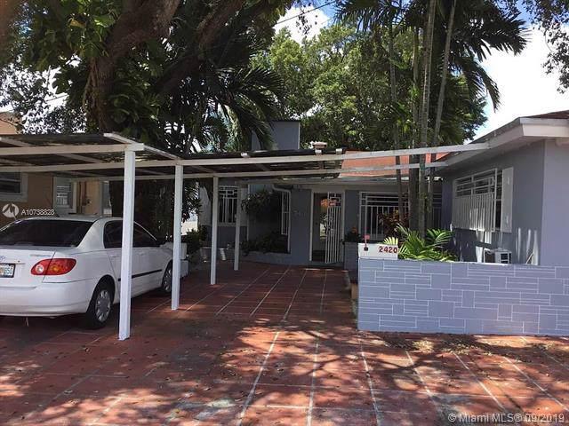 2420 SW 16th St, Miami, FL 33145 (MLS #A10738828) :: The Paiz Group