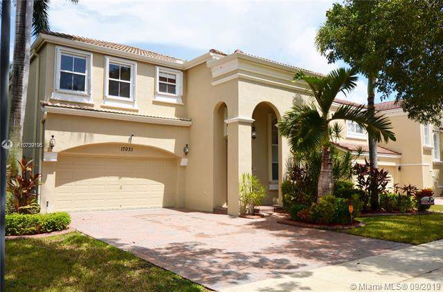 17031 SW 51st Ct, Miramar, FL 33027 (MLS #A10739195) :: Ray De Leon with One Sotheby's International Realty