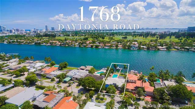 1768 Daytonia Rd, Miami Beach, FL 33141 (MLS #A10739397) :: Prestige Realty Group