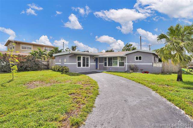 3622 NW 34th St, Lauderdale Lakes, FL 33309 (MLS #A10739747) :: The Kurz Team