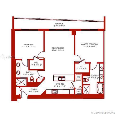 500 Brickell Ave #3805, Miami, FL 33131 (MLS #A10740114) :: Berkshire Hathaway HomeServices EWM Realty