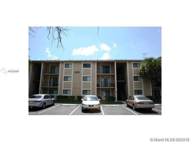 400 Palm Cir W #305, Pembroke Pines, FL 33025 (#A10740411) :: Real Estate Authority