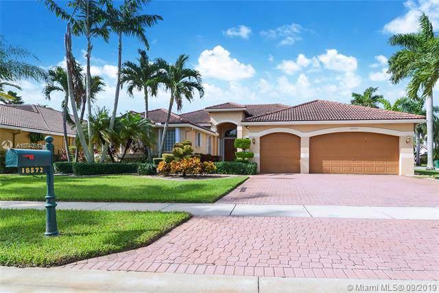 18572 SW 42nd St, Miramar, FL 33029 (MLS #A10740513) :: Grove Properties