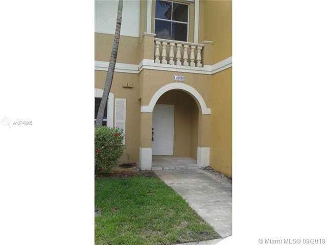 14030 SW 49th St #10, Miramar, FL 33027 (MLS #A10740906) :: Green Realty Properties