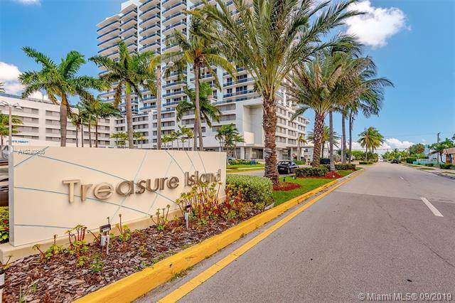 1801 S Treasure Dr #222, North Bay Village, FL 33141 (MLS #A10740966) :: The Rose Harris Group