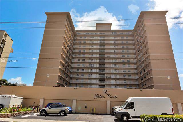 121 Golden Isles Dr #507, Hallandale, FL 33009 (MLS #A10741064) :: United Realty Group