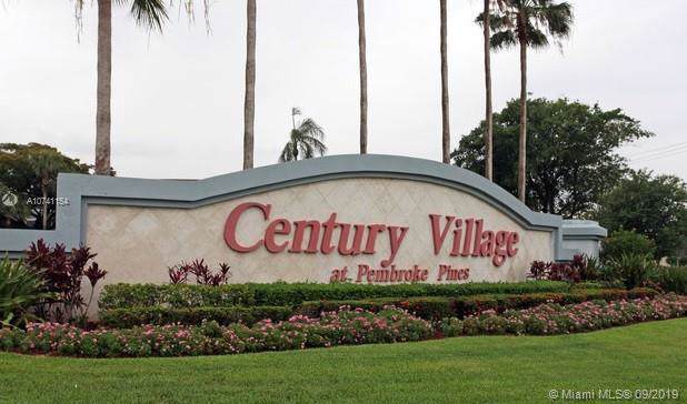 1100 SW 130th Ave 410H, Pembroke Pines, FL 33027 (#A10741154) :: Real Estate Authority