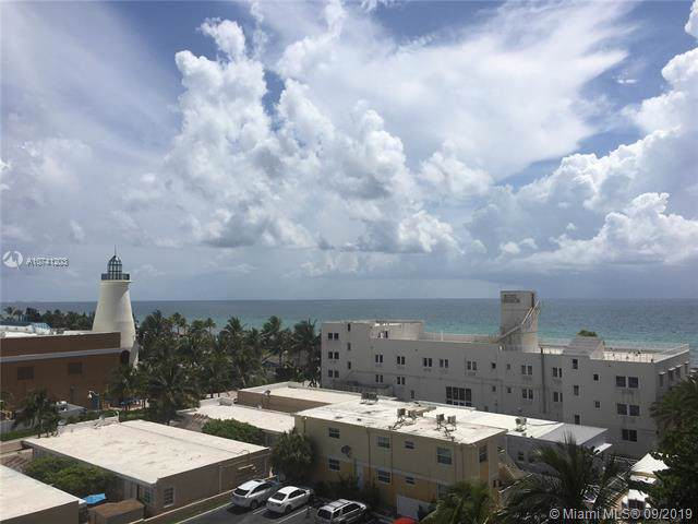 322 Buchanan St #608, Hollywood, FL 33019 (#A10741203) :: Real Estate Authority
