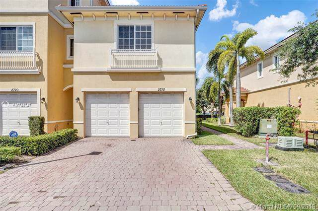 2710 SW 81st Ave #1206, Miramar, FL 33025 (MLS #A10741247) :: The Riley Smith Group
