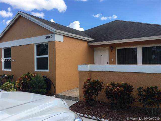 3040 NW 203rd Ter, Miami Gardens, FL 33056 (MLS #A10741469) :: The Maria Murdock Group