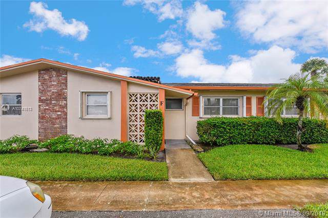 2771 E Dudley Dr F, West Palm Beach, FL 33415 (MLS #A10741513) :: The Paiz Group