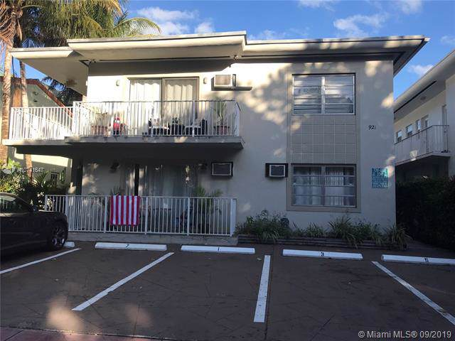 921 Meridian Ave #2, Miami Beach, FL 33139 (MLS #A10741647) :: The Paiz Group