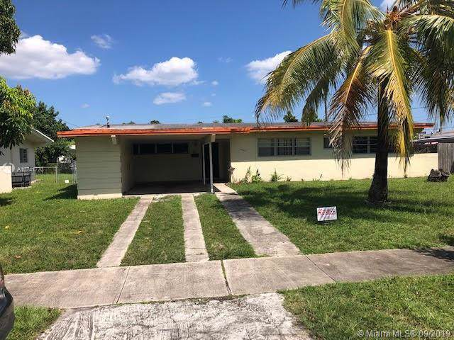 19121 NW 5th Pl, Miami Gardens, FL 33169 (#A10741770) :: Dalton Wade
