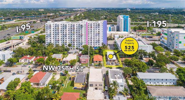 525 NW 35th St, Miami, FL 33127 (MLS #A10741841) :: Grove Properties