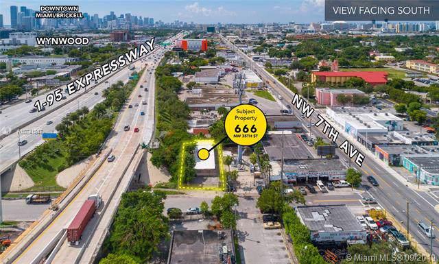 666 NW 35th St, Miami, FL 33127 (MLS #A10741847) :: Grove Properties