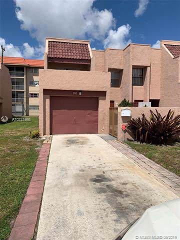 1765 NW 58th Ave #9, Lauderhill, FL 33313 (MLS #A10741995) :: United Realty Group