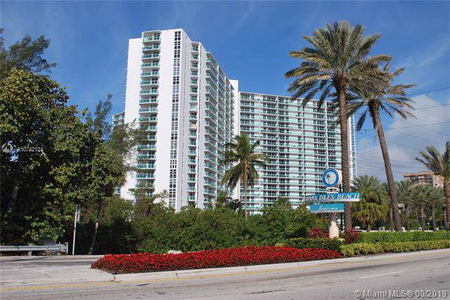 100 Bayview Dr #202, Sunny Isles Beach, FL 33160 (MLS #A10742124) :: Grove Properties