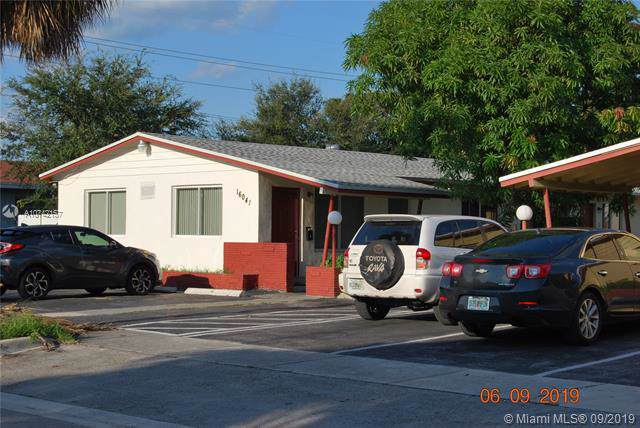 16041 NE 18th Pl, North Miami Beach, FL 33162 (#A10742157) :: Dalton Wade