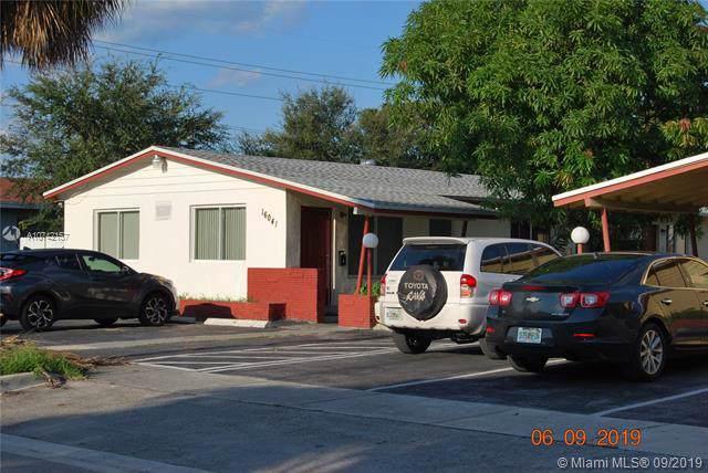 16041 NE 18th Pl, North Miami Beach, FL 33162 (MLS #A10742157) :: Green Realty Properties