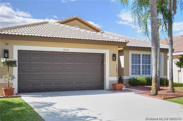 18008 SW 12th Ct, Pembroke Pines, FL 33029 (MLS #A10742429) :: The Riley Smith Group
