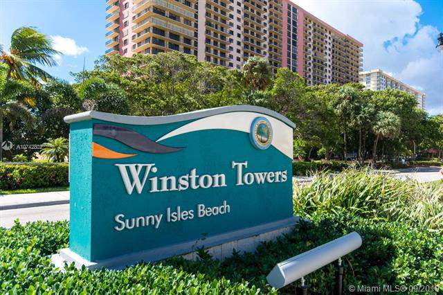 210 174th St #2110, Sunny Isles Beach, FL 33160 (MLS #A10742802) :: The Teri Arbogast Team at Keller Williams Partners SW