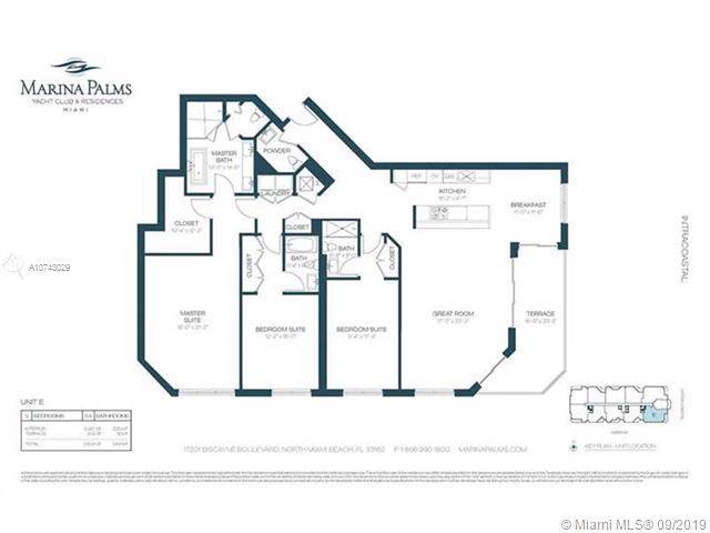 17301 Biscayne Blvd #1109, Aventura, FL 33160 (MLS #A10743029) :: Grove Properties