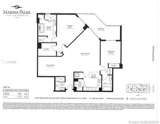 17301 Biscayne Blvd #1108, Aventura, FL 33160 (MLS #A10743045) :: Grove Properties