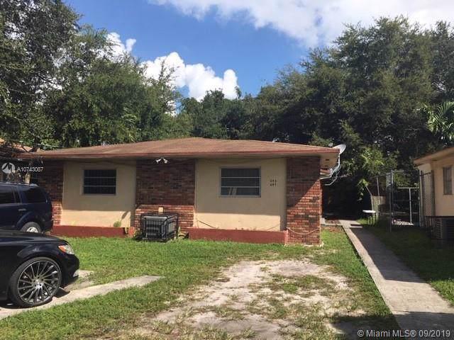 245 NW 55th St, Miami, FL 33127 (MLS #A10743087) :: The Kurz Team