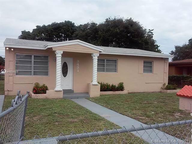 3431 NW 173rd Ter, Miami Gardens, FL 33056 (MLS #A10743335) :: GK Realty Group LLC