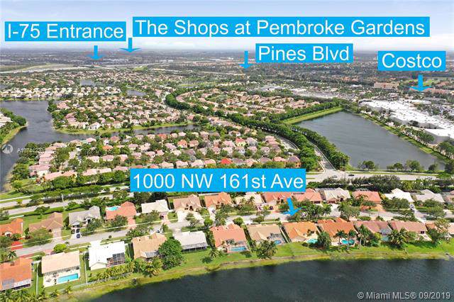 1000 NW 161 ST.AVE, Pembroke Pines, FL 33028 (MLS #A10744220) :: The Jack Coden Group