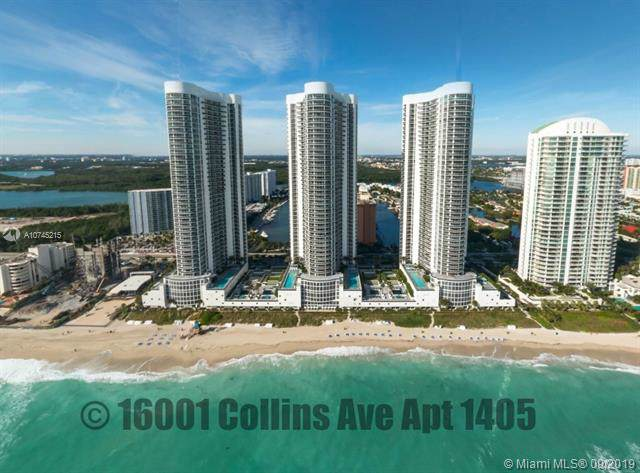 16001 Collins Ave #1405, Sunny Isles Beach, FL 33160 (MLS #A10745215) :: Ray De Leon with One Sotheby's International Realty