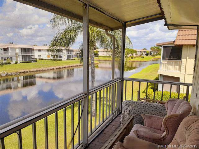 278 Saxony F #278, Delray Beach, FL 33446 (MLS #A10747740) :: GK Realty Group LLC
