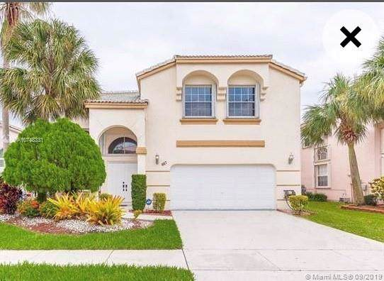 667 NW 155th Ter, Pembroke Pines, FL 33028 (MLS #A10748331) :: Laurie Finkelstein Reader Team