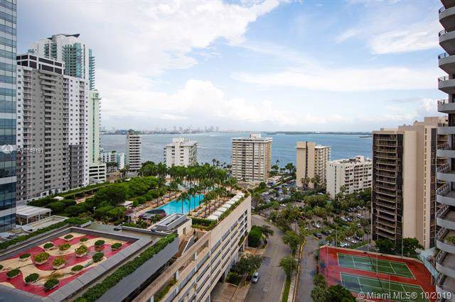 1451 Brickell Ave #1701, Miami, FL 33131 (MLS #A10749191) :: Ray De Leon with One Sotheby's International Realty