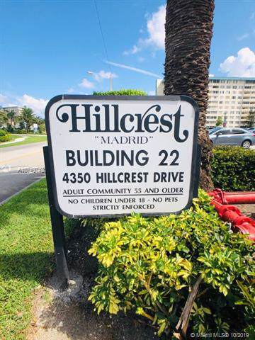 4350 Hillcrest Dr #900, Hollywood, FL 33021 (MLS #A10749749) :: The Teri Arbogast Team at Keller Williams Partners SW